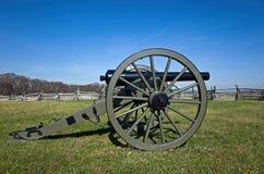 原始的南北战争大炮 免版税图库摄影