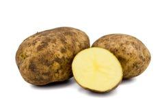 原始的土豆 免版税库存图片