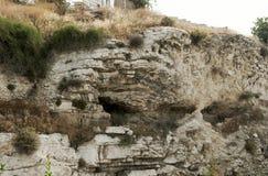 原始的山Golgotha 免版税库存图片