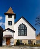 原始的梅费尔圣经教会 免版税图库摄影