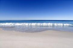 原始的海滩 库存图片