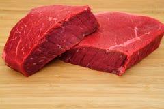 原始的牛肉 图库摄影