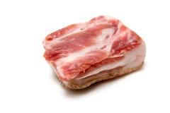 原始的猪肉 库存图片