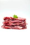 原始的猪肉 免版税库存照片