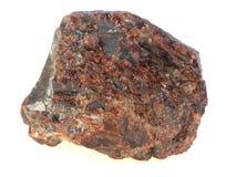 原始的石榴石 库存图片