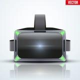 原始的立体镜3d VR耳机 皇族释放例证