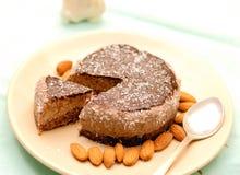 原始的素食主义者蛋糕 库存照片