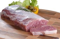 原始的肉 库存图片