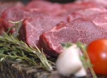 原始的肉 免版税图库摄影