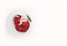 原始的肉 库存照片