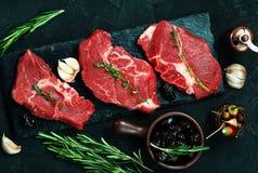 原始的肉 免版税库存照片