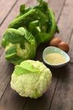 原始的花椰菜 免版税库存照片