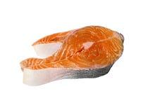 原始的鲑鱼排 图库摄影