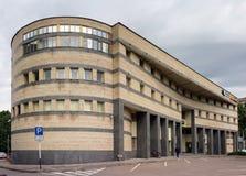 原始的建筑学大厦  免版税库存照片