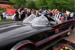 原始的Batmobile 库存图片