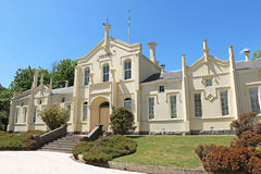 原始的Creswick医院(1863)在1912年停止功能作为一家医院,当它成为了一部分的林业学校时 免版税库存图片