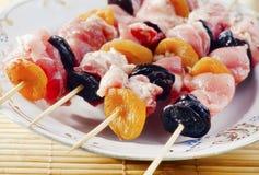 原始的kebab 库存照片