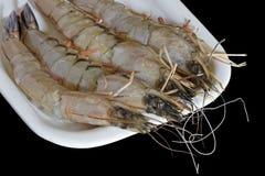 原始被清洗的大虾 免版税库存图片