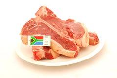 原始非洲的肉 免版税图库摄影