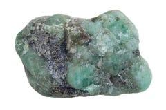 原始鲜绿色的宝石 库存照片