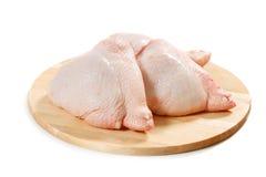 原始鸡的肉 免版税库存图片