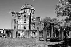 原子弹圆顶,原子弹爆炸圆顶屋 免版税图库摄影