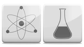 原子管阿尔法通道圈 库存例证