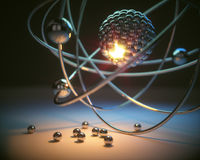 原子能力量 免版税库存照片