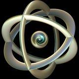 原子 免版税库存照片