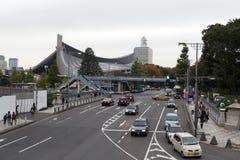 原宿地区,日本 免版税库存照片