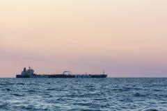 原油罐车斯特纳南极洲 免版税库存图片