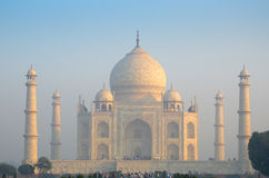 原物,泰姬陵七奇迹概念,印度, 免版税库存图片