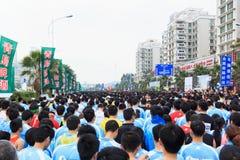 厦门国际马拉松2014年 免版税库存图片