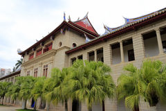 厦门大学Qunxianlou大厦  免版税库存图片