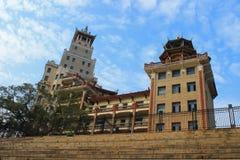 厦门jimei xuecun教的大厦  免版税库存照片