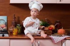 厨师一点 免版税库存照片