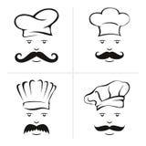 厨师例证 库存图片
