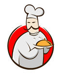 厨师动画片 免版税库存图片