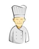 厨师动画片 免版税库存照片