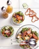 厨师沙拉 免版税库存照片