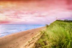 厨师海滩的` s边 免版税库存图片