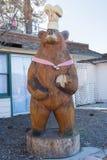 厨师熊 库存图片