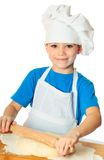厨师男孩 免版税图库摄影