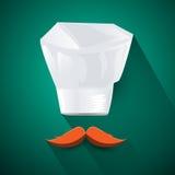 厨师的帽子 免版税图库摄影