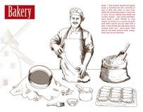 厨师行业  向量例证