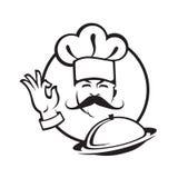 厨师设计 图库摄影