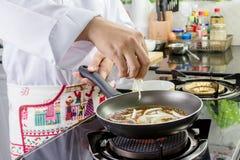 厨师调味料 库存图片