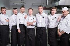 厨师餐馆配合专业人员 免版税库存图片