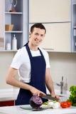 厨师年轻人 免版税库存照片