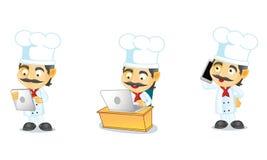 厨师3 库存图片
